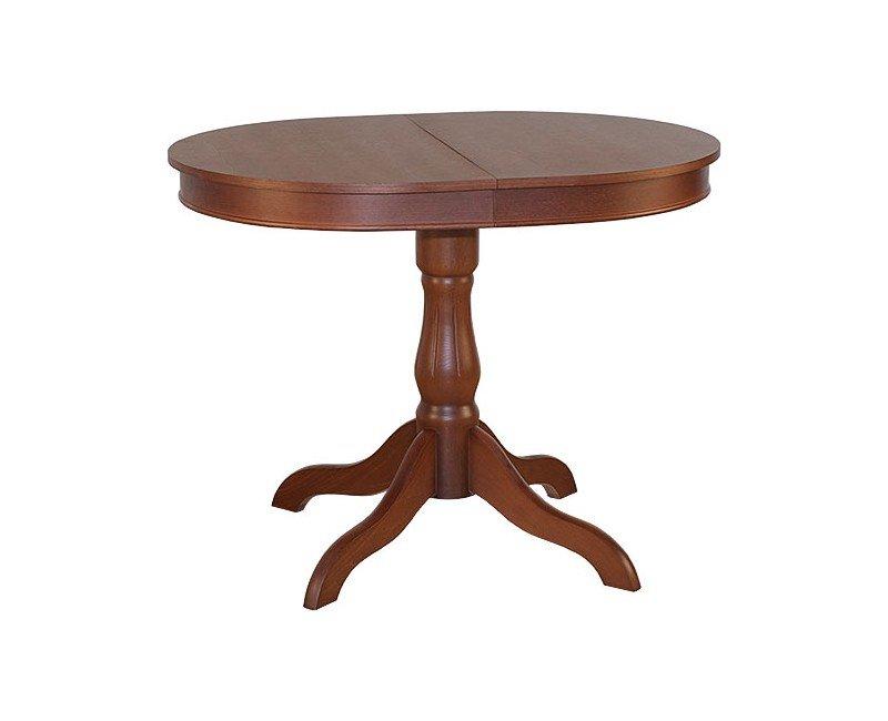 Стол обеденный деревянный монако овальный
